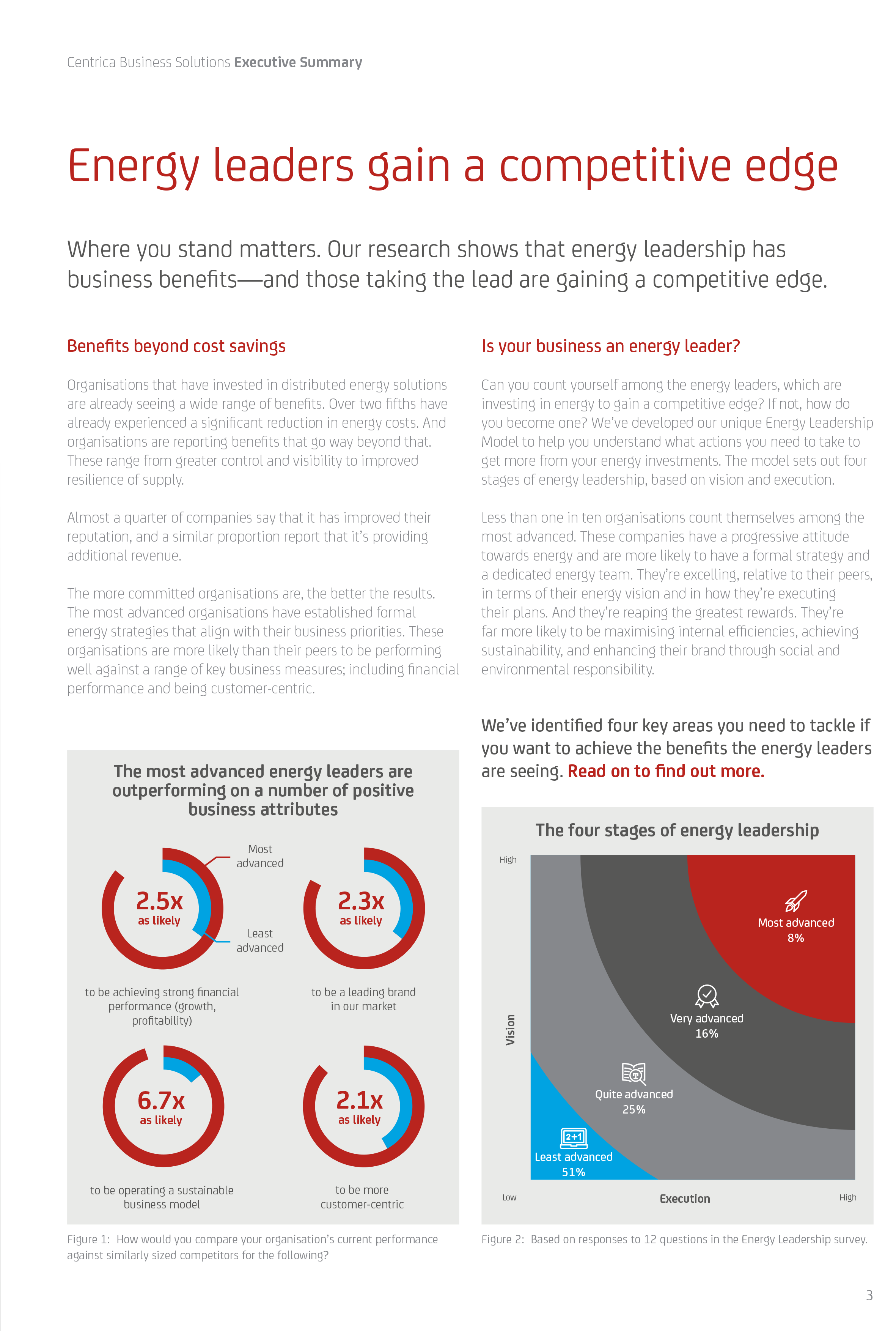 Excerpt from the Energy Advantage Report 2018 executive summary
